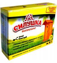 Биопрепарат для туалетов, выгребных ям и септиков Силушка 20г