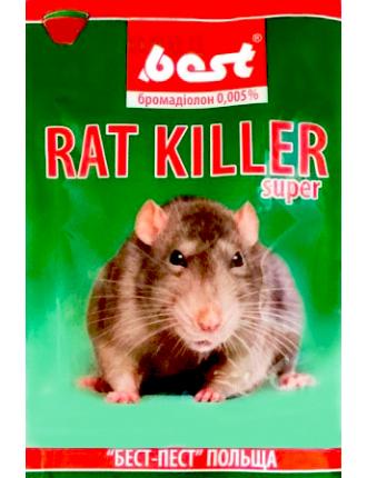 Мумифицирующее средство для грызунов Rat Killer Best 100г