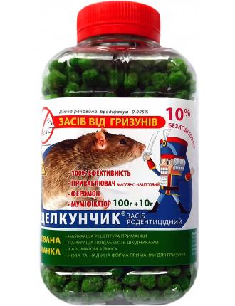 Гранулы от крыс и мышей Щелкунчик 110г