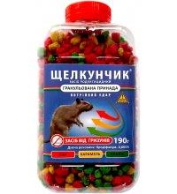 Средство от крыс и мышей Щелкунчик гранулы 190г 3цвета-3аромата
