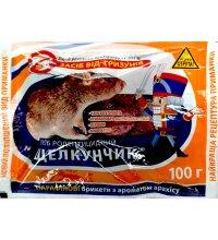 Парафиновые брикеты от крыс и мышей Щелкунчик 100г