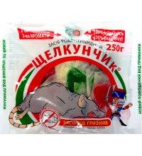 Средство от мышей и крыс Щелкунчик Тесто 250г