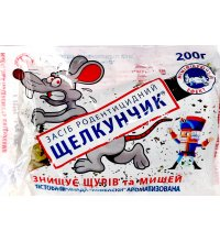 Приманка от крыс и мышей Щелкунчик тесто 200г