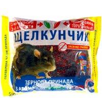Зерно от мышей и крыс Щелкунчик 500г микс