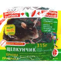 Зерно от крыс и мышей Щелкунчик 315г микс
