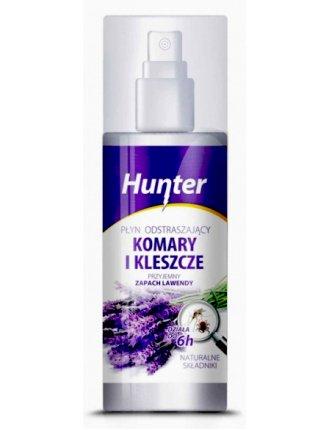 Натуральный спрей от комаров и клещей Hunter 100мл