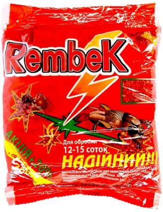 Крупа от медведки Рембек 360г RED