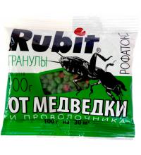 Гранулы от Медведки и Проволочника Рубит 100г Рофатокс