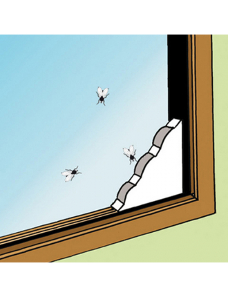 Оконная ловушка для мух и мошек Panko, 2 шт