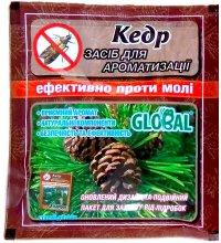 Таблетки от моли Global Кедр, 10шт