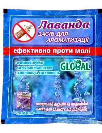 Таблетки от моли Global Лаванда, 10шт