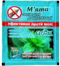 Таблетки от моли Global Мята, 10шт