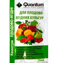 Микроудобрение Квантум для Плодово-ягодных растений 30мл