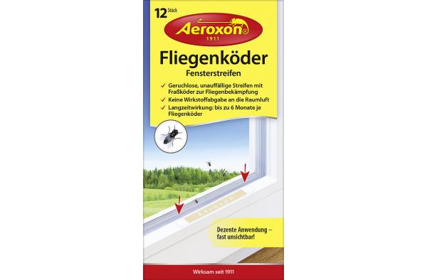 Средство от мух Aeroxon (полоска на окно), Германия