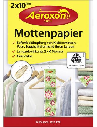 Средство от моли Aeroxon Mottenpapier