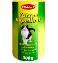 Биопорошок для отпугивания кошек Braeco 300г